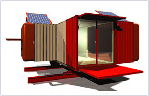 Concept shipping container designs and photos