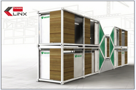 LiNX container housing for construction industry (image hosted by cubicinspirations.com)